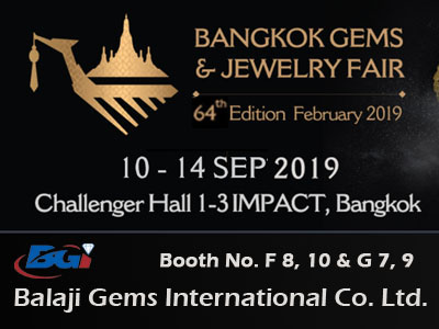 Bangkok Gems & Jewelry Fair Sep 2019