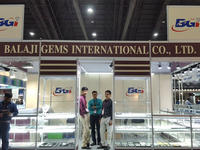 Balaji Gems Booth at  Bangkok Fair