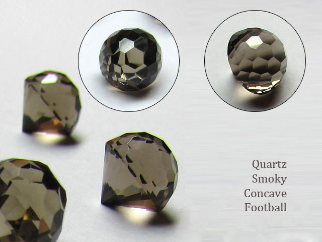 football-concave-smoky-quartz