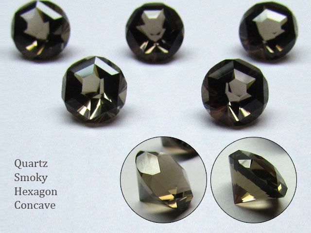 hexagon-concave-smoky-quartz